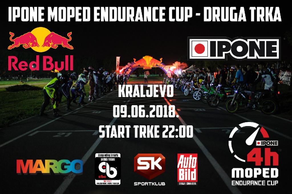 Druga trka Ipone Moped Endurance Cupa uz direktan TV prenos na SK6